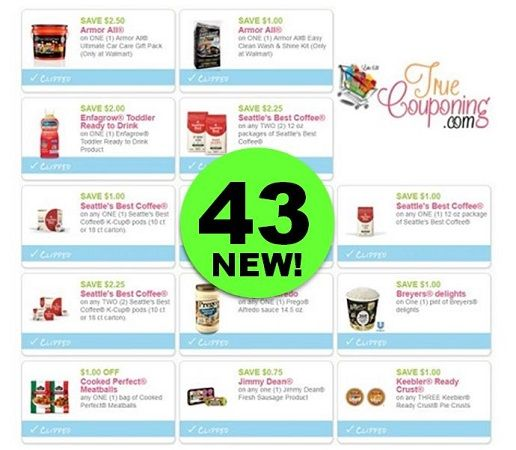 There's Forty-Three (43!) **NEW** Coupons Out This Week! ~ Print NOW!