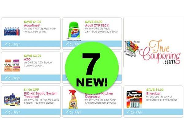 New Printable Savings For Energizer Aquafina Amp More