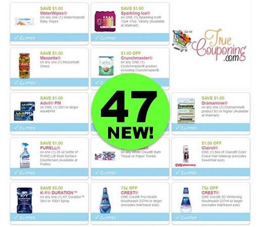 Did You PRINT the Forty-Seven (47!) NEW Coupons Out This Week Yet?!!