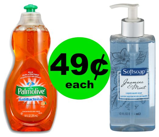 Wash Up! Palmolive & Softsoap Hand Soap 49¢ Each at CVS {FOUR Days Only}! ~ Ad Starts Today!