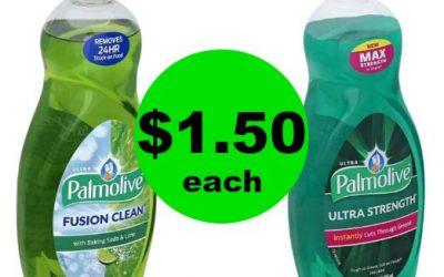 Be Prepared for Dirty Dishes with $1.50 Palmolive Dish Soap at Publix! (Ends 1/23 or 1/24)