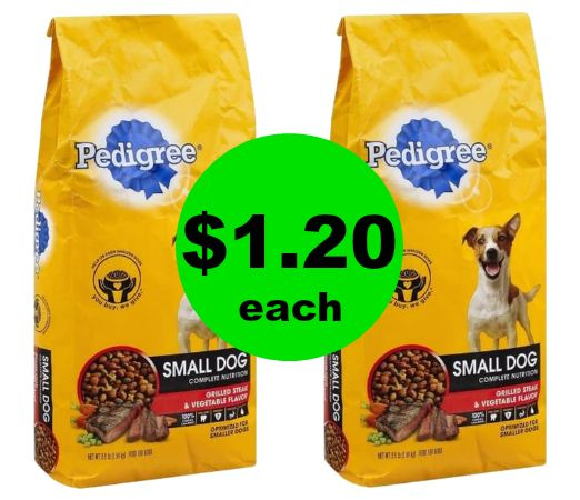 Pick Up $1.20 Pedigree Dry Dog Food Bags at Publix! ~ Ends Tues/Weds!