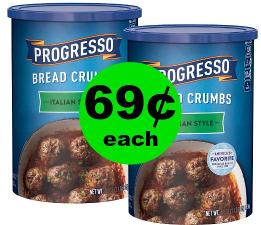 Print NOW for 69¢ Progresso Bread Crumbs at Publix ~ This Week!