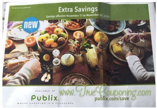 Guess What Time It Is? Publix Green Flyer Time! And This Ad Has SIX (6!) Deals $1 Or Less! YIPPEE! {Ad Runs 11/11 – 11/24}