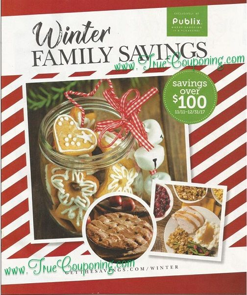 "Did You SEE the Sixty (60!) Coupons in the Publix ""Winter Family Savings"" Coupon Booklet?!!"