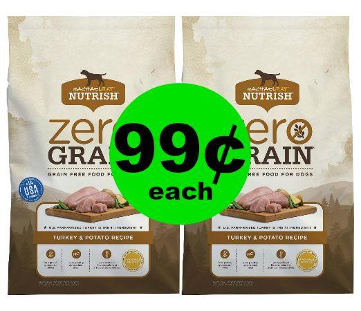 *PRINT NOW* 99¢ Rachael Ray Nutrish Zero Grain Dog Food at Publix! ~ Ends Thursday, 11/30!