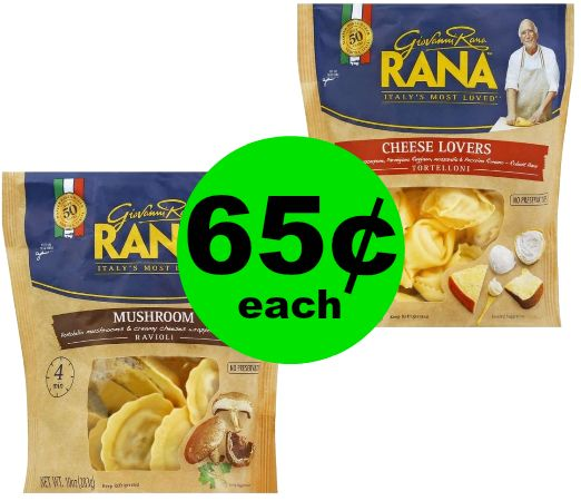 PRINT NOW! Rana Raviolis are 65¢ Each at Publix! ~Starts Weds/Thurs!