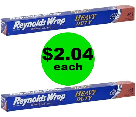 Get Ready for Baking! Get Reynolds Wrap Heavy Duty Foil for $2.04 Each at Publix! ~ Starts Saturday!