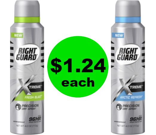 Keep the Stink Away! Right Guard Xtreme Dry Spray Only $1.24 Each {Reg. $7} at CVS! ~ Right Now!