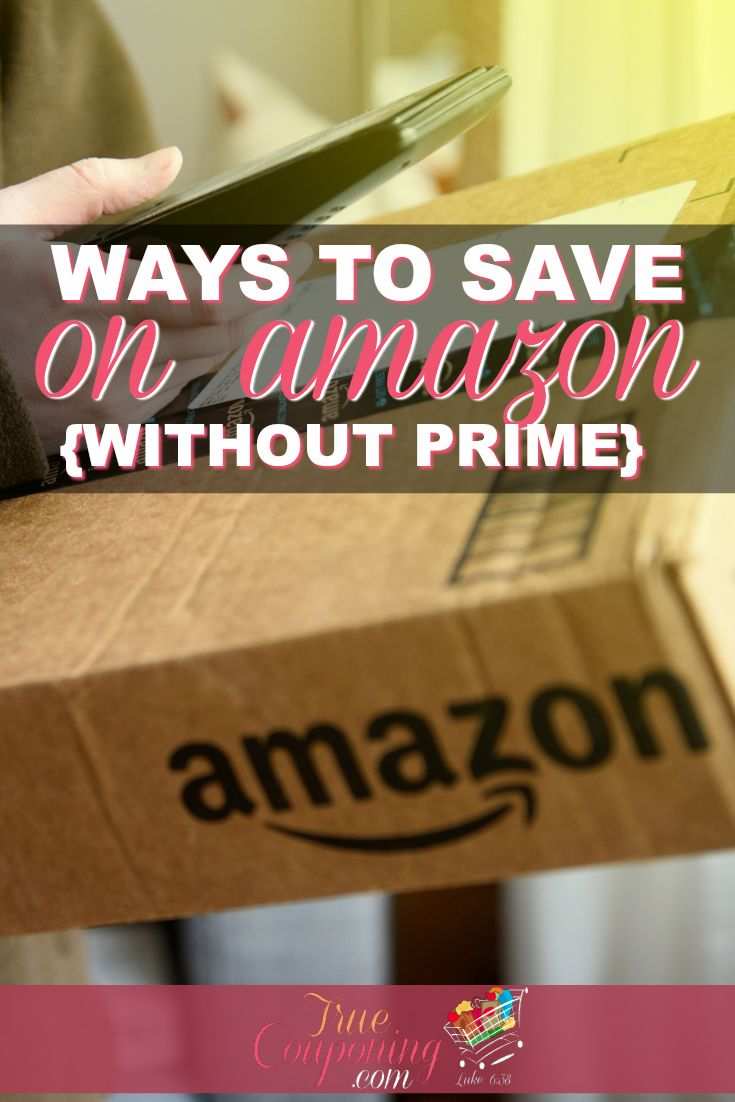 Everyone uses Amazon. Make sure you know how to maximize your savings when you shop on Amazon. And no,  you don't have to have Prime! #truecouponing #savingmoney