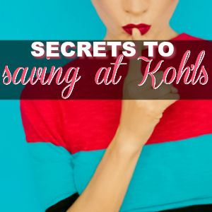 Over Twenty Ways to Save When You Shop at Kohl's