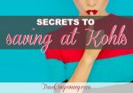 Twenty-Two (22!) Easy Ways to Save the Most at Kohl's