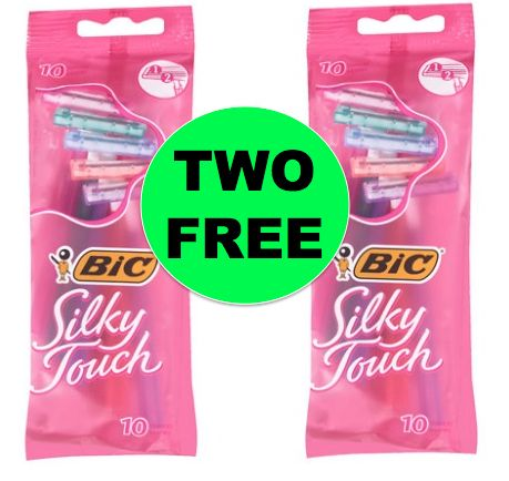 Cheap Shave! TWO (2!) FREE BIC Silky Touch Razors at Walgreens! ~ Right Now!