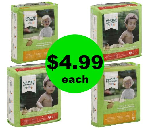 It's A Dapper Diaper Deal! Score Seventh Generation Diapers for $4.99 Each {Save $5 Off} at Publix! ~ Ends Friday!