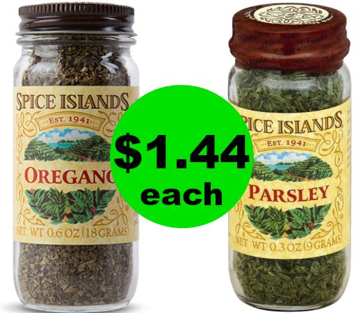 Spice Up the Cabinet! Spice Islands Spices $1.44 Each at Publix~ Ad Starts Today!