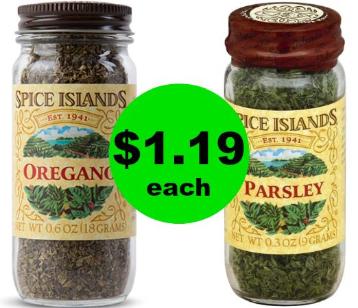 Spice Up Your Cabinets! Spice Islands Spices As Low As $1.19 Each at Publix! ~ Ends TODAY!