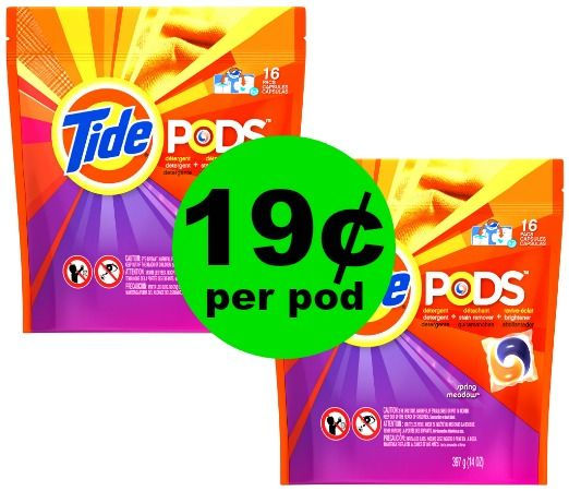 Dirty Laundry Be GONE! Tide Pods are Just 19¢ Per Pod at Publix! ~ Starts Weds/Thurs!