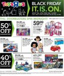 Toys R Us Black Friday Ad Scan 2017 {40-50% Off Doorbusters & 33% Off All Fisher-Price Infant Toys!}