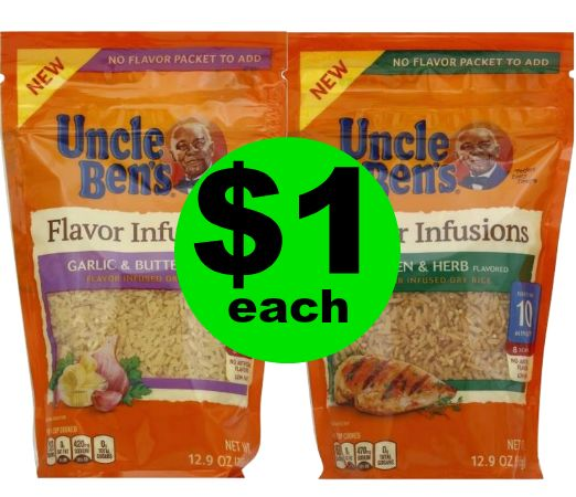 Side Dish DONE! Uncle Ben's Flavor Infusions Rice Mix are Just $1 at Publix! ~ Starts Sunday!