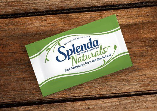 FREE Splenda Natural Stevia Sweetener!