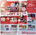 Walgreens Black Friday Ad Scan 2017 {3 Day Shopping Pass: 25% Off Regular Priced Items!}