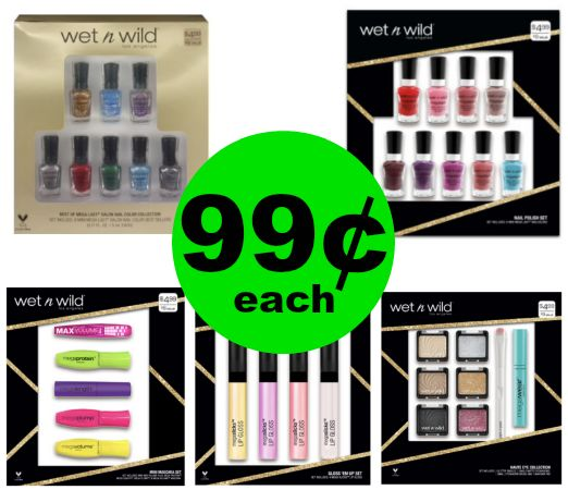 Pick Up Your Holiday Gifts NOW! Wet N Wild Gift Sets are 99¢ Each at CVS! ~ This Week!