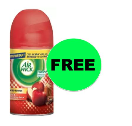 FREE Air Wick Freshmatic Pure Refill {after Rebate} at Walgreens! ~Right Now!