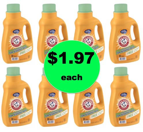 Stock Up on Arm & Hammer Laundry Detergent ONLY $1.97 Each at Walgreens! {NO Coupons Needed!} ~ Right Now!