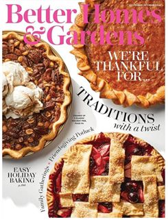 FREE One-Year Subscription to Better Homes & Gardens Magazine!