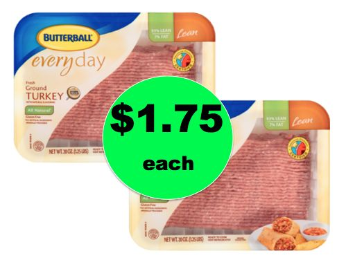 Cheap Meat! Get Butterball Ground Turkey 16oz. ONLY $1.75 Each at Winn Dixie! ~ Right Now!