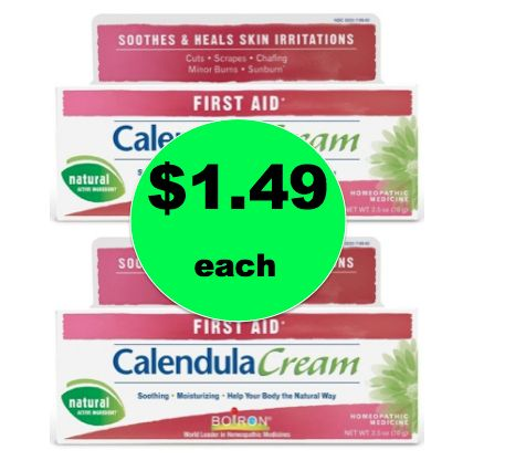 Pick Up $1.49 Calendula First Aid Cream {Reg. $7+} at Target! ~Right Now!