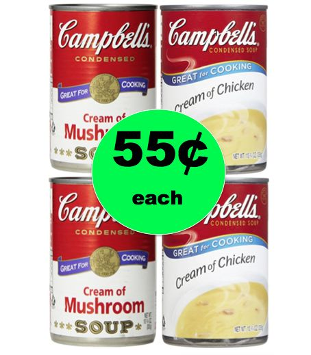 Shop for Thanksgiving Dinner with 55¢ Campbell's Condensed Soups at Winn Dixie! ~Right Now!