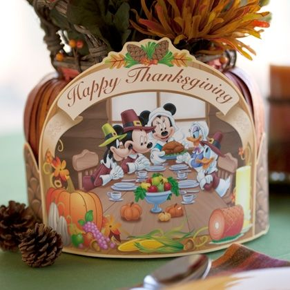 FREE Disney Thanksgiving Printables!