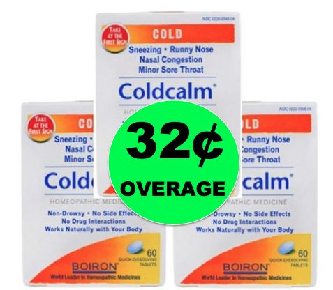 THREE (3!) FREE + $0.32 OVERAGE on Natural Coldcalm Cold Relief Medicine at Target! ~NOW!