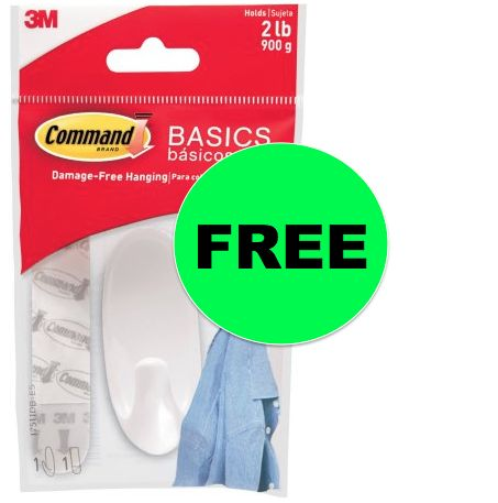 FREE Command Hook at Walmart!