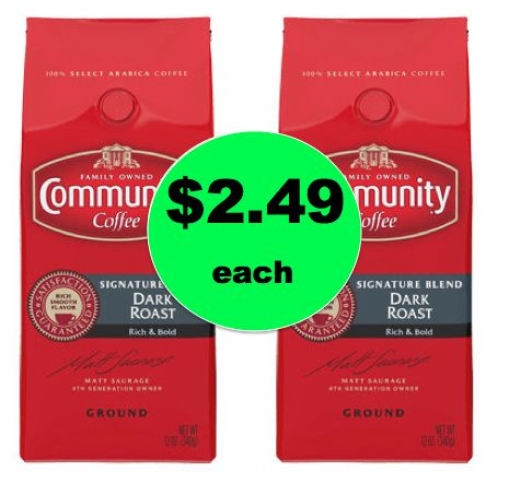 COFFEE ALERT! Get Community Coffee ONLY $2.49 Per Bag at Winn Dixie! ~ Ends Thurs!