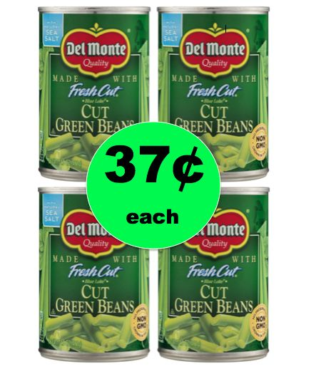 Eat Your Veggies for Cheap with 37¢ Del Monte Green Beans at Walmart! ~NOW!