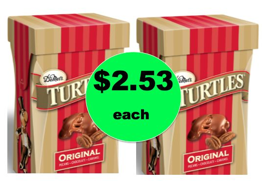 CHEAP Gift Idea! Pick Up $2.53 Demet's Turtles Gift Boxes at Walmart! ~Ends Saturday!