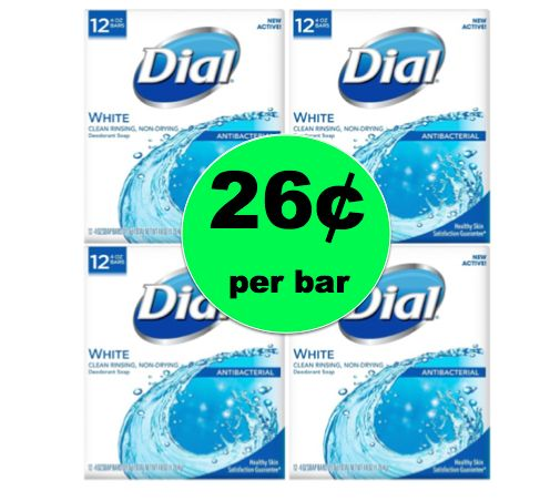 Get Clean for Even Cheaper with 26¢ Dial Bar Soap at Target! ~Ends Saturday!