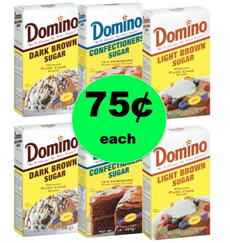 Stock Up on Domino Brown or Confectioner's Sugar for ONLY 75¢ Each at Winn Dixie! ~NOW!