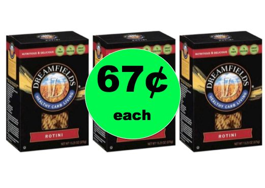 Need Low Carb? Pick Up Dreamfields Low Carb Pasta ONLY 67¢ Each at Target! ~Happening Now!