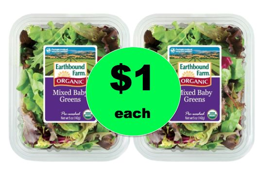Pick Up Earthbound Organic Farm Salad $1 Each at Winn Dixie! ~ Right Now!