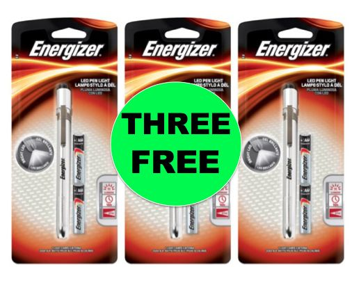 THREE (3!) FREE Energizer Pen Lights at Walmart (and Target too)! ~NOW!