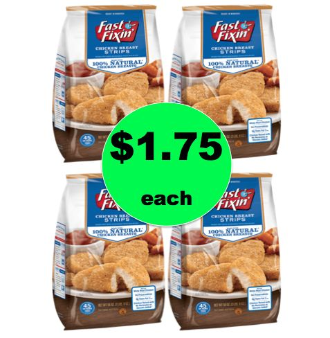 Pick Up Fast Fixin' Breaded Chicken ONLY $1.75 Each at Winn Dixie! ~Right Now!
