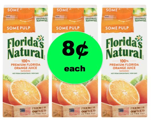 Boost Your Immune System with 8¢ Florida's Natural Orange Juice at Walmart! ~NOW!