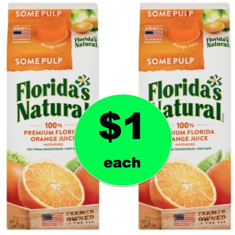 Get Florida's Natural Orange Juice $1 Each at Winn Dixie! ~ Right Now!