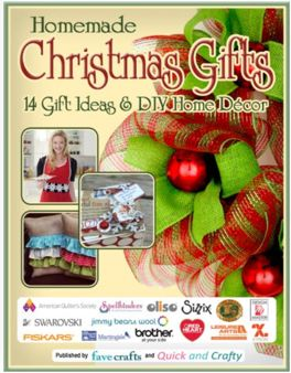 FREE Homemade Christmas Gifts eBook!