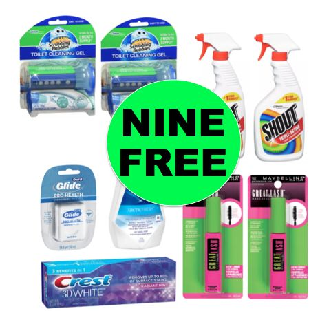 Don't Miss Your NINE (9!) FREE Household & Personal Care Products at Walgreens! ~Ends Saturday!