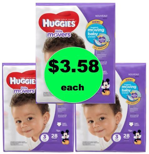 Stock Up on Huggies Diapers or Pullups ONLY $3.58 Each at Walgreens! ~ Starts TODAY!