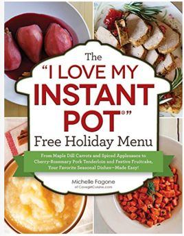 FREE Instant Pot Holiday Menu!